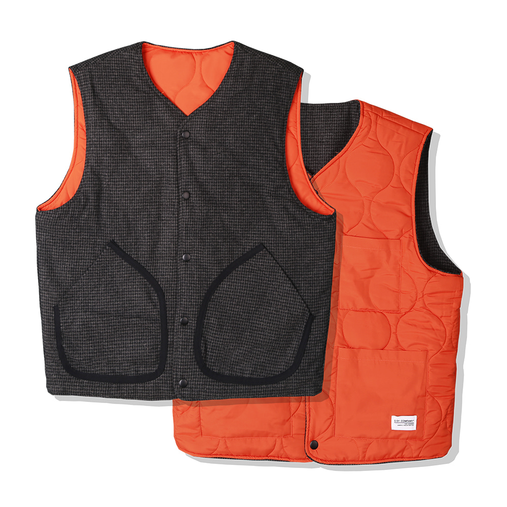 BLACK HOUND REVERSIBLE VEST