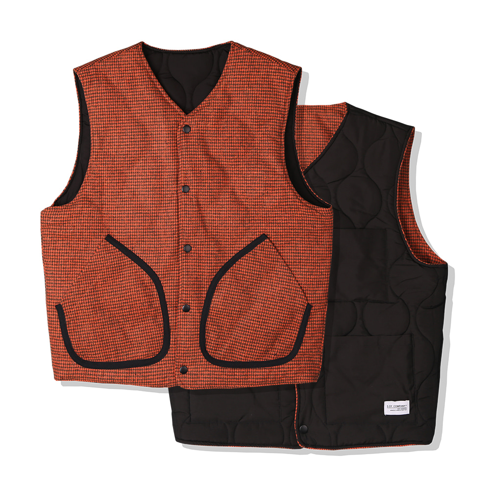 ORANGE HOUND REVERSIBLE VEST