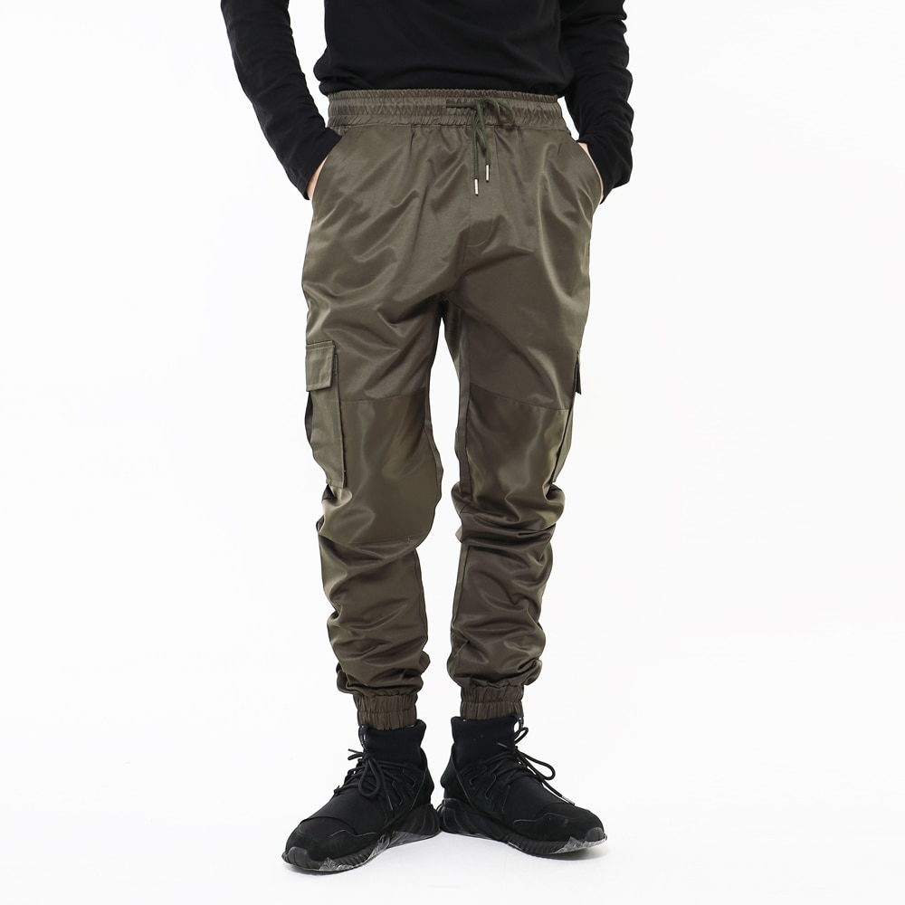 EXCLUSIVE SECTION JOGGER PANTS KH
